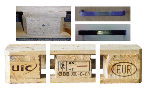 Brand new Euro pallets with UIC mark – EUR