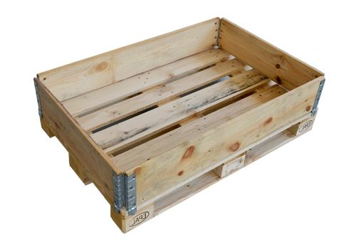 Wooden frames for pallets