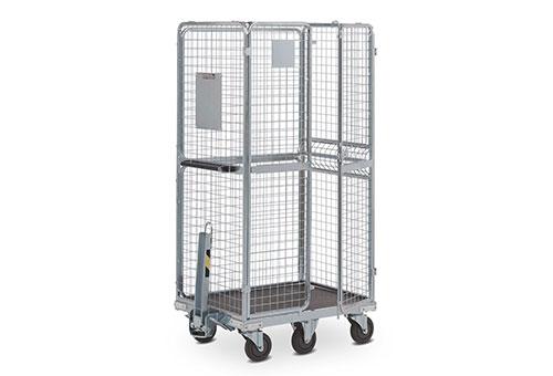 Storage boxes, type metallic and mobile