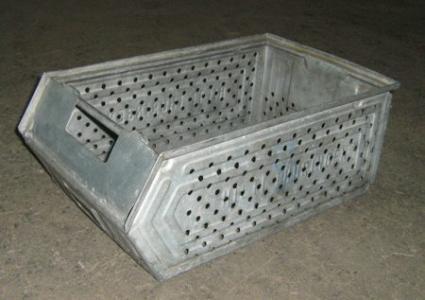 Galvanized metal storage boxes Type SB-1257