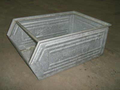 Galvanized metal storage boxes Type SB-1262