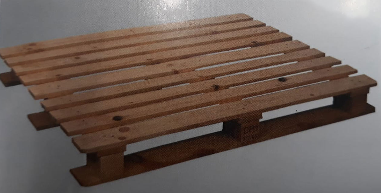 CP1 pallet with IPPC